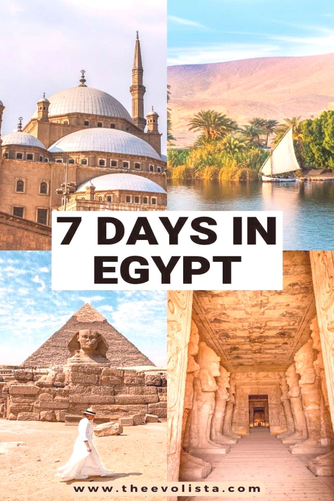 The Ultimate 7 Day Egypt Itinerary Cairo, Luxor amp Aswan Ultimate 7 days in Egypt Itinerary   Best