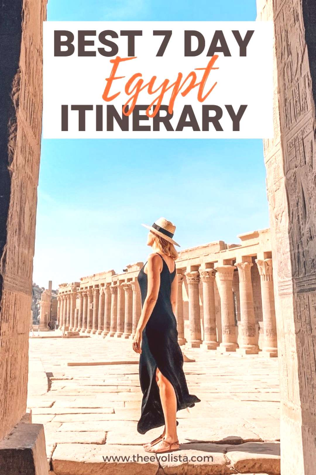 The Ultimate 7 Day Egypt Itinerary Cairo, Luxor amp Aswan Visit the Pyramids of Giza, Take a Nile Cr