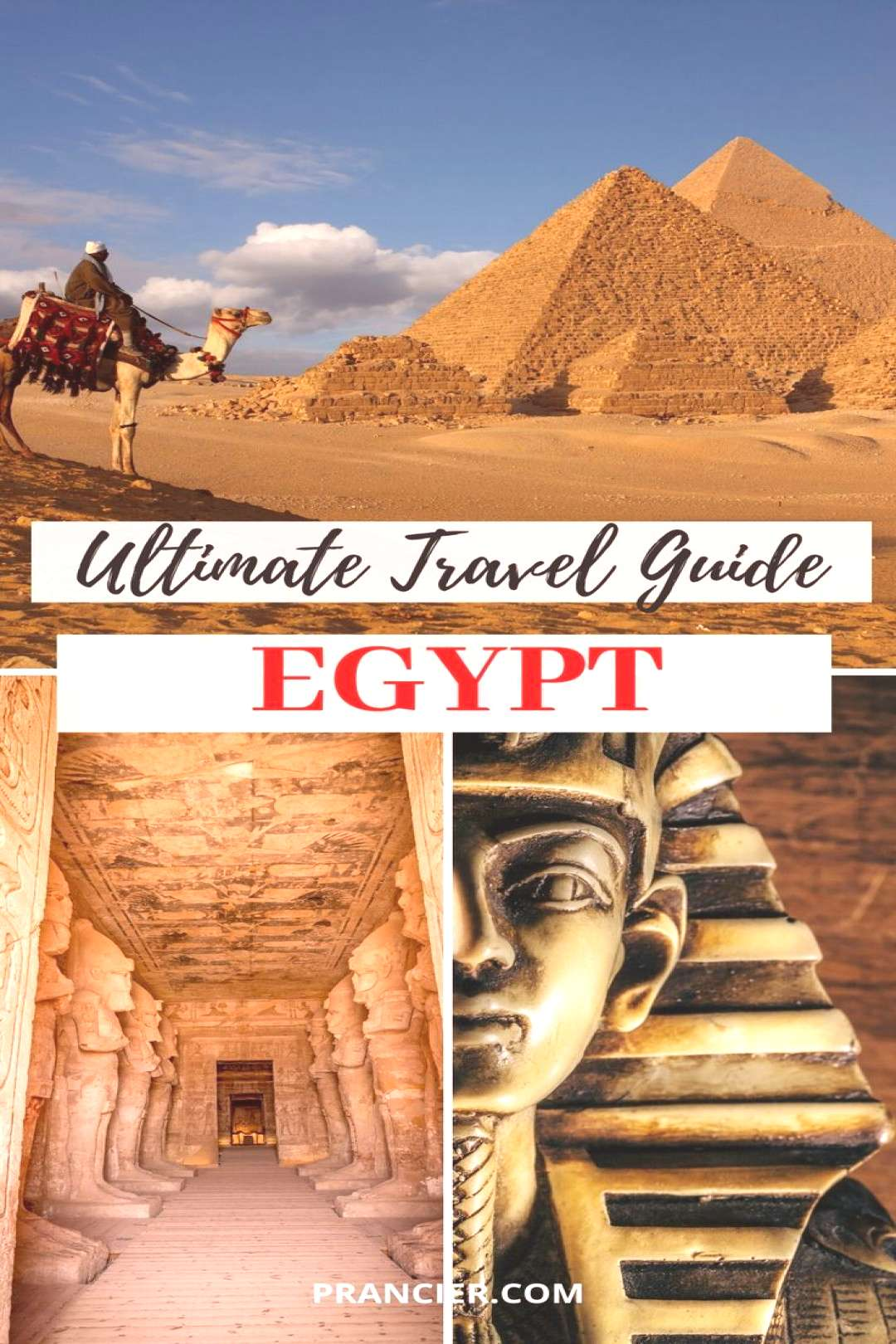 The Ultimate Egypt Travel Guide! Check out the ultimate Egypt travel guide with everything you need