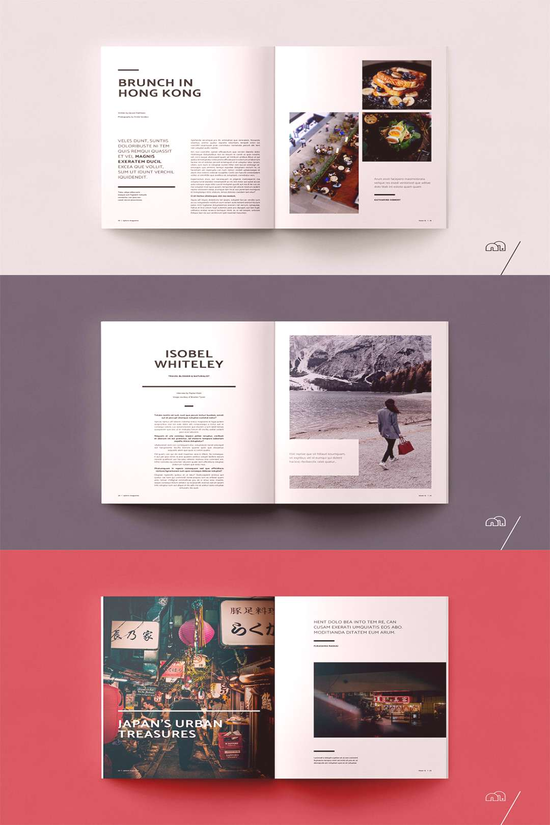 Travel Magazine - Xplore  XPLORE Travel Magazine is a professional, modern template with a focus on