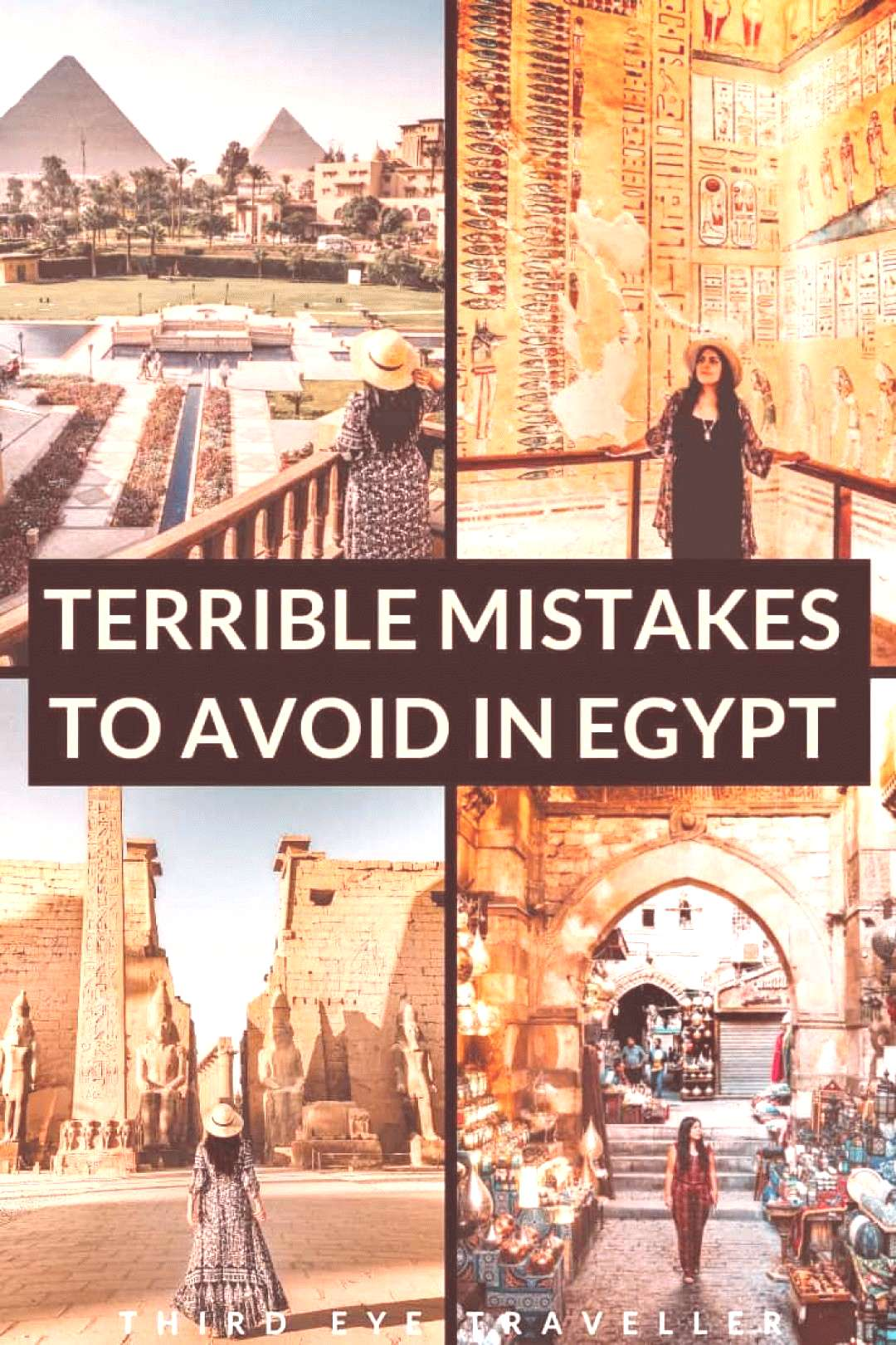 What not to do in egypt Scams in egypt what to expect in egypt as a tourist travelling to egy Wh