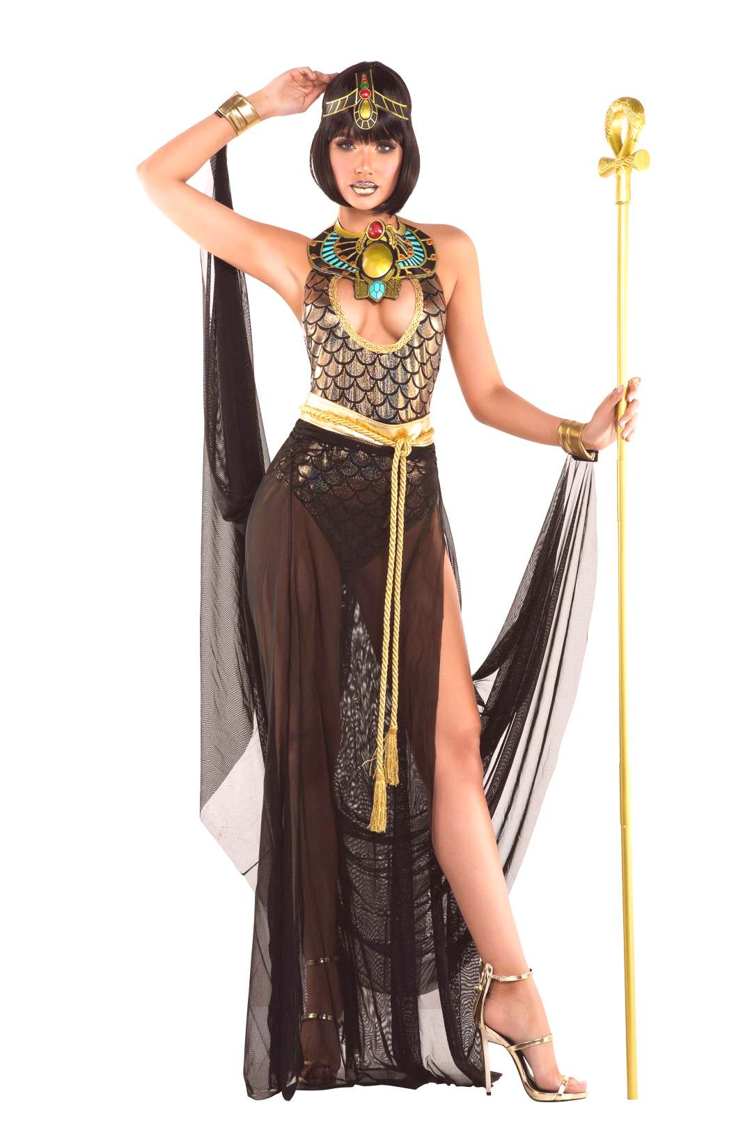 Womens Sexy Cleo Costume More